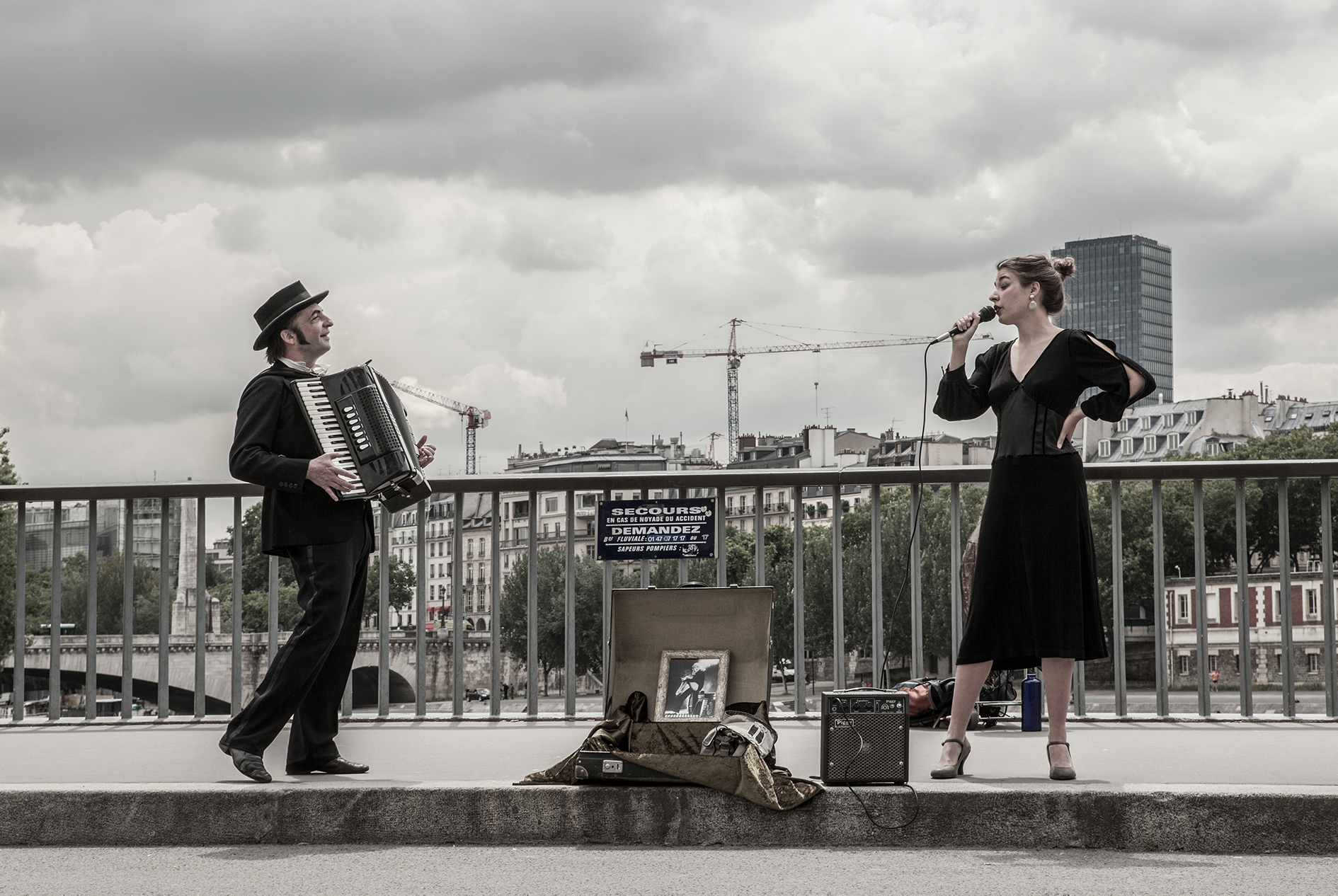 PARIS musiciens de rue